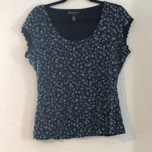 INC International Womens Floral Top